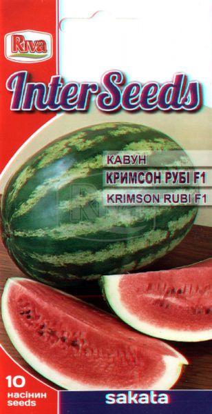 Кавун Кримсон Рубі F1