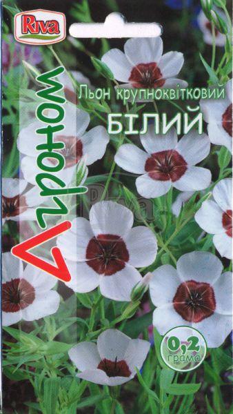 Льон Крупноквітковий Білий